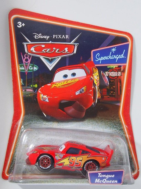 訳有特価】TONGUE LIGHTNING McQUEEN SC版