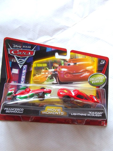 KA-CIAO LIGHTNING MCQUEEN AND FRANCESCO MOVIE MOMENTS 2011 PC