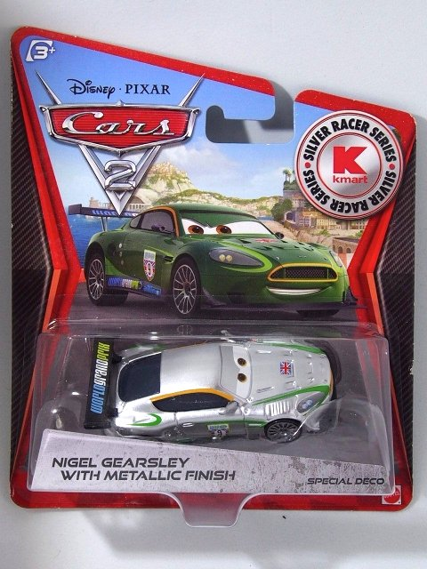 NIGEL GEARSLEY SILVER METALLIC RACER K-MART DAY限定  PC版 #9