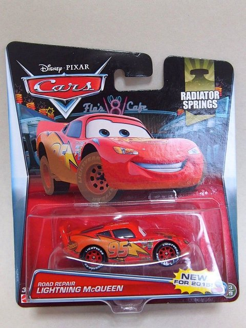 ROAD REPAIR LIGHTNING MCQUEEN 2015