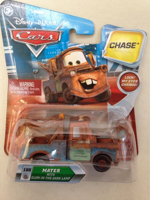 MATER WITH GLOW IN THE DARK LAMP CHASE!  LOOK EYES CHANGE版
