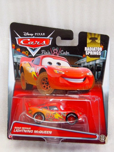 訳有特価】ROAD REPAIR LIGHTNING MCQUEEN 2015