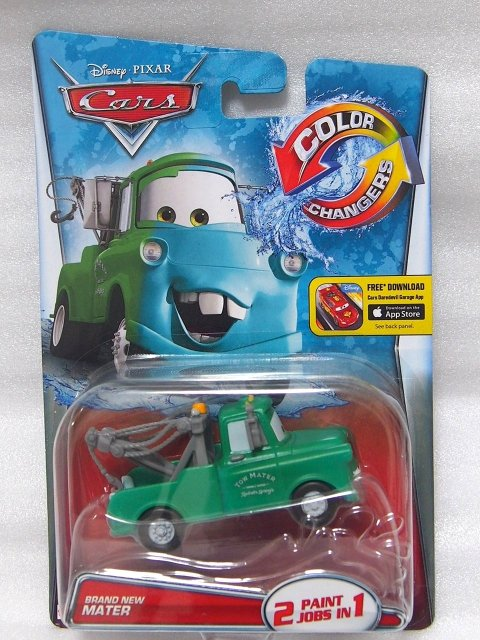 COLOR CHANGER BRAND NEW MATER