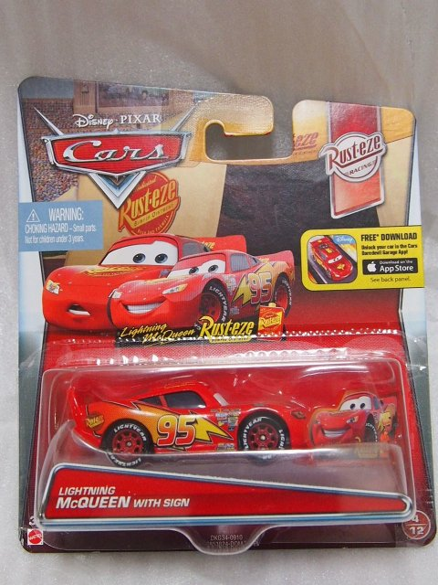 LIGHTNING McQUEEN WITH SIGN 2016
