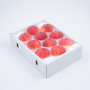 アミナチュール農園の朝採り桃<br>9〜12個(3.0kg)