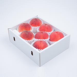 アミナチュール農園の朝採り桃<br>6〜8個(2.0kg)