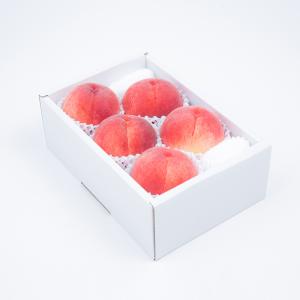 【予約販売】AminatureFruitsの朝採り桃<br>5〜6個(1.5kg)