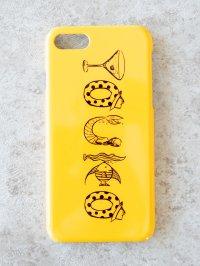 名入れスマホケース ハードケース(yellow)
