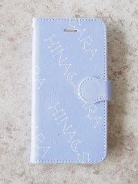 名入れスマホケース 手帳型(lavender)