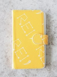 Smartphone synthetic leather case(yellow)