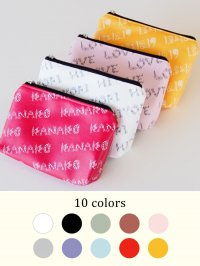 <img class='new_mark_img1' src='//img.shop-pro.jp/img/new/icons14.gif' style='border:none;display:inline;margin:0px;padding:0px;width:auto;' />11 colors  cosmetic pouch