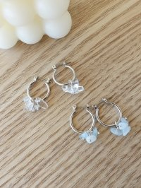 <img class='new_mark_img1' src='https://img.shop-pro.jp/img/new/icons14.gif' style='border:none;display:inline;margin:0px;padding:0px;width:auto;' />2 colors chandelier pierce(blue , clear)