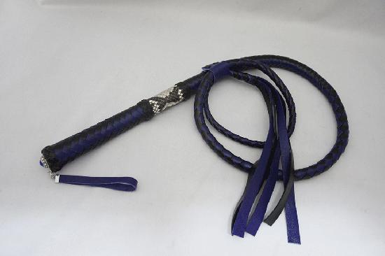 一本鞭 先端バラタイプ ミッドナイトブルー