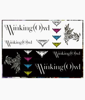 [ The Winking Owl ] STICKER SHEET