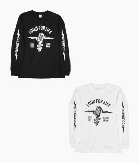 [ coldrain ] MICROPHONE LONG SLEEVE T-SHIRTS