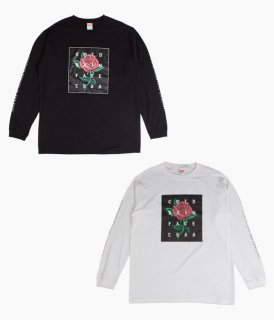 [ coldrain ] FATELESS FLOWER LONG SLEEVE T-SHIRT ( C / フラワー・ロングスリーブ)
