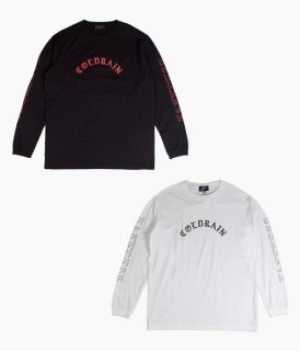 [ coldrain ]FATELESS LOGO LONG SLEEVE T-SHIRT ( B / ロゴ・ロングスリーブ)