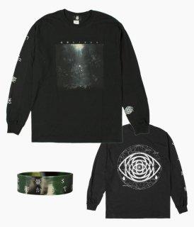 [眩暈SIREN]「深層から」TOUR2018 LONG SLEEVE T-SHIRTS ラバーバンド付