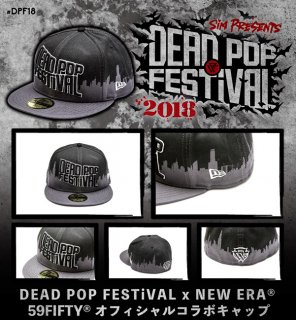 [ DEADPOPFESTiVAL ] DEAD POP FESTiVAL×NEW ERA 59 FIFTY
