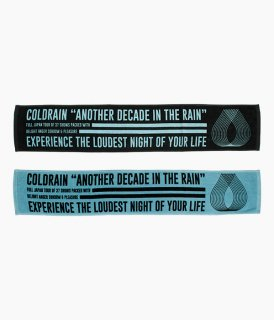 [ coldrain ] ANOTHER DECADE IN THE RAIN TOWEL