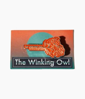 [ The Winking Owl ] Thanks pins