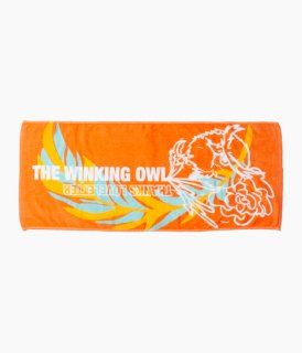 [ The Winking Owl ] Thanks Face Towel