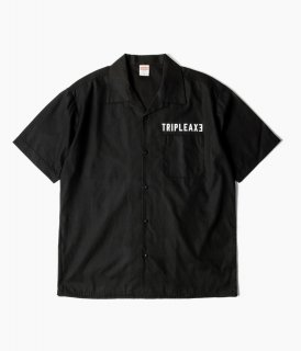 再販!【予約商品】 [ TRIPLE AXE ] オープンカラーシャツ 【11月中旬〜下旬入荷次第発送】※購入枚数制限あり