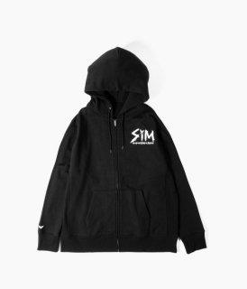受付終了【受注生産商品】[SiM] #4 15YRS FULL ZiP HOODiE(ジップ)【 1月中旬〜下旬 順次発送予定】
