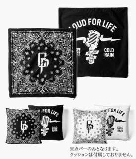 "【 予約商品 】[ coldrain ]""VENA PAISLEY×LOUD FOR LIFE""CUSHION COVER ※9月上旬以降入荷次第発送"