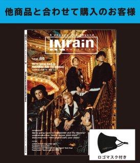 [coldrain] INrain magazine vol.01(ロゴマスク付き)【他商品とあわせて購入】