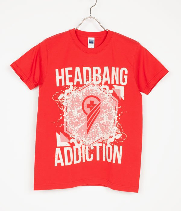 [ coldrain ] HEADBANG ADDICTION TEE