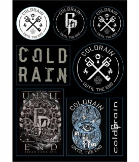 [ coldrain ] coldrain Sticker Sheet
