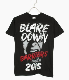 [ coldrain ] BLARE DOWN BARRIERS T-SHIRT