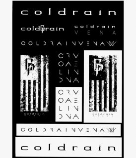[ coldrain ] STICKER SHEET2016