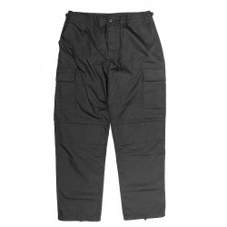 US MILITARY B.D.U PANTS / BLACK (カーゴパンツ)
