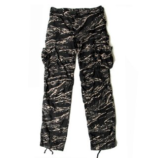 <img class='new_mark_img1' src='//img.shop-pro.jp/img/new/icons5.gif' style='border:none;display:inline;margin:0px;padding:0px;width:auto;' />US MILITARY B.D.U PANTS / BLACK TIGER CAMO (カーゴパンツ)