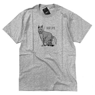 <img class='new_mark_img1' src='//img.shop-pro.jp/img/new/icons5.gif' style='border:none;display:inline;margin:0px;padding:0px;width:auto;' />OUR LIFE WOLF SHIT TEE / HEATHER GREY (アワーライフ TEE/Tシャツ)
