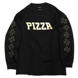 <img class='new_mark_img1' src='//img.shop-pro.jp/img/new/icons5.gif' style='border:none;display:inline;margin:0px;padding:0px;width:auto;' />PIZZA SKATEBOARDS PIZLA L/S TEE / WHITE (ピザスケートボード Tシャツ)