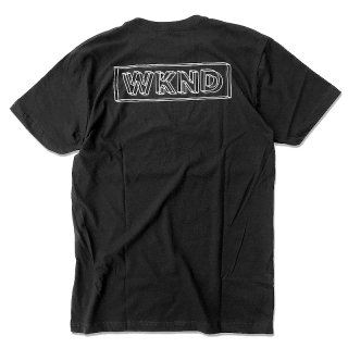 【20%OFF】WKND WIRE FLAME TEE / BLACK (ウィークエンド Tシャツ) <img class='new_mark_img2' src='//img.shop-pro.jp/img/new/icons41.gif' style='border:none;display:inline;margin:0px;padding:0px;width:auto;' />