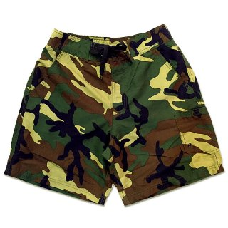 <img class='new_mark_img1' src='//img.shop-pro.jp/img/new/icons55.gif' style='border:none;display:inline;margin:0px;padding:0px;width:auto;' />CAMOUFLAGE SWIM SHORT PANTS / WOODLAND CAMO (カモフラージュ柄スイムショーツ/ショートパンツ)