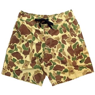 <img class='new_mark_img1' src='//img.shop-pro.jp/img/new/icons5.gif' style='border:none;display:inline;margin:0px;padding:0px;width:auto;' />CAMOUFLAGE SWIM SHORT PANTS / DUCK HUNTER CAMO (カモフラージュ柄スイムショーツ/ショートパンツ)
