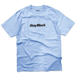<img class='new_mark_img1' src='//img.shop-pro.jp/img/new/icons58.gif' style='border:none;display:inline;margin:0px;padding:0px;width:auto;' />STAY BLACK ORIGINAL LOGO TEE UNC / POWDER BLUE (ステイブラック 半袖Tシャツ)
