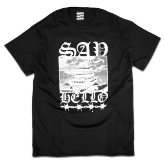SAYHELLO Encounters Tee / BLACK (セイハロー Tシャツ)