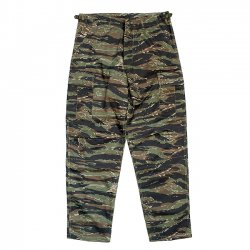 <img class='new_mark_img1' src='//img.shop-pro.jp/img/new/icons5.gif' style='border:none;display:inline;margin:0px;padding:0px;width:auto;' />US MILITARY B.D.U PANTS / TIGER CAMO (カーゴパンツ)