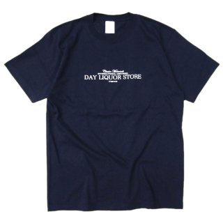 <img class='new_mark_img1' src='//img.shop-pro.jp/img/new/icons5.gif' style='border:none;display:inline;margin:0px;padding:0px;width:auto;' />DAY LIQUOR STORE LOGO TEE / NAVY (デイリカーストアー Tシャツ)