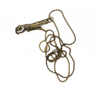 <img class='new_mark_img1' src='https://img.shop-pro.jp/img/new/icons58.gif' style='border:none;display:inline;margin:0px;padding:0px;width:auto;' />Good Worth & Co.ROACH CLIP NECKLACE  (アクセサリー ネックレス)