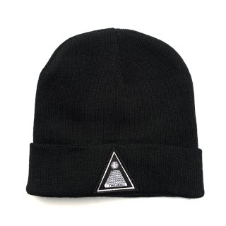 <img class='new_mark_img1' src='//img.shop-pro.jp/img/new/icons55.gif' style='border:none;display:inline;margin:0px;padding:0px;width:auto;' />THEORIES THEORAMID BEANIE CAP / BLACK (セオリーズ ビーニー/ニットキャップ)