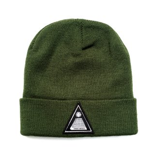 <img class='new_mark_img1' src='//img.shop-pro.jp/img/new/icons55.gif' style='border:none;display:inline;margin:0px;padding:0px;width:auto;' />THEORIES THEORAMID BEANIE CAP / FOREST GREEN (セオリーズ ビーニー/ニットキャップ)