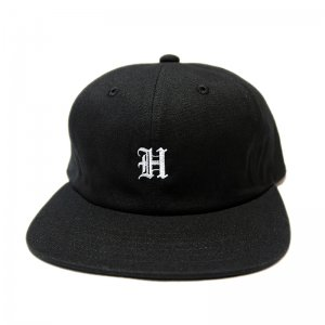 <img class='new_mark_img1' src='//img.shop-pro.jp/img/new/icons5.gif' style='border:none;display:inline;margin:0px;padding:0px;width:auto;' />HORRIBLE'S OLD EMBLEM SNAPBACK CAP / BLACK (ホリブルズ 6パネルキャップ)