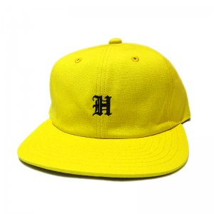 <img class='new_mark_img1' src='//img.shop-pro.jp/img/new/icons5.gif' style='border:none;display:inline;margin:0px;padding:0px;width:auto;' />HORRIBLE'S OLD EMBLEM SNAPBACK CAP / YELLOW(ホリブルズ 6パネルキャップ)
